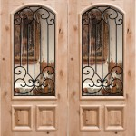 : Exterior double doors require enough rough opening for setting