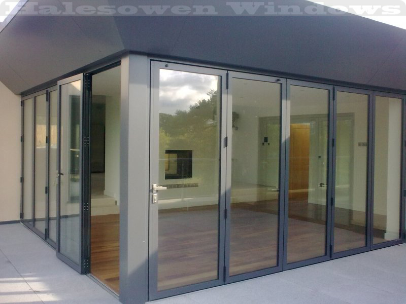 Exterior Folding Glass Doors From Uk Make Your House Elegant And