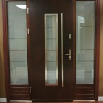 : Exterior front doors are perfect for modern home