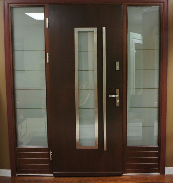 Exterior front doors are perfect for modern home
