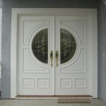 : Exterior glass double doors will add elegance to your home