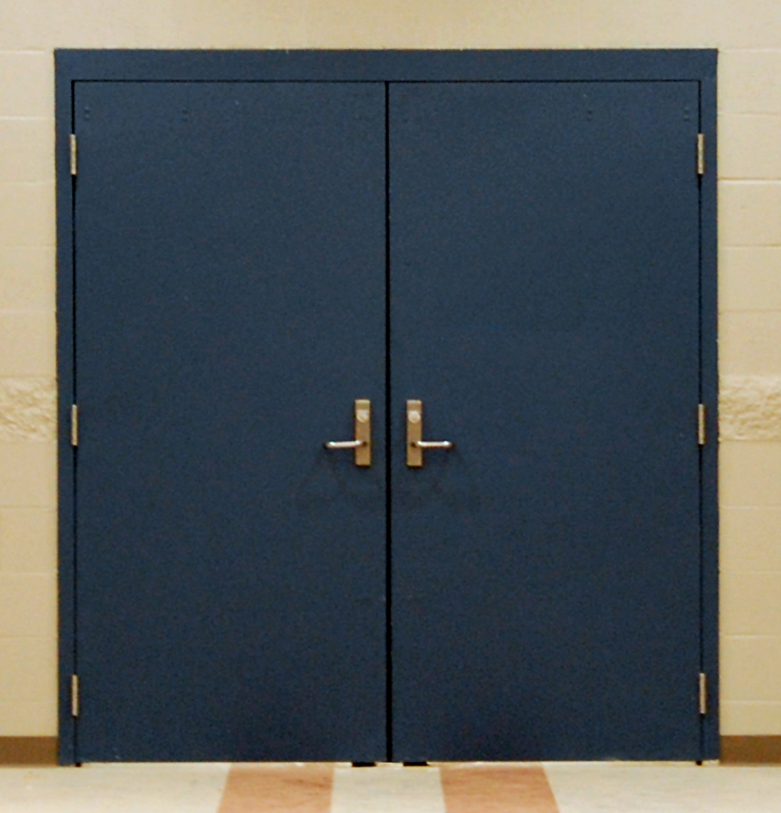 Exterior Metal Double Doors Are More Resistant To Damage And Easy To