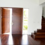 : Exterior of double front entry doors should be stylish and attractive