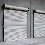 : Exterior roll up door is the widely used choice for garage or shop