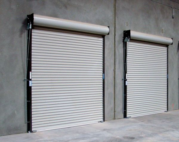 Exterior roll up door is the widely used choice for garage or shop