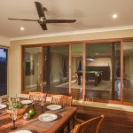 : External bifold patio doors are usually covered with special finish