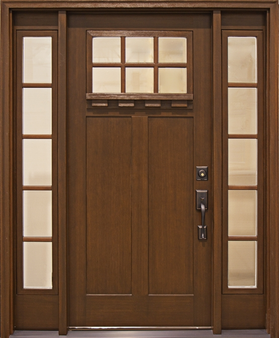 Fiberglass craftsman style entry doors look amazing and can fit in any place