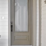 : Fiberglass exterior doors Therma Tru are quality
