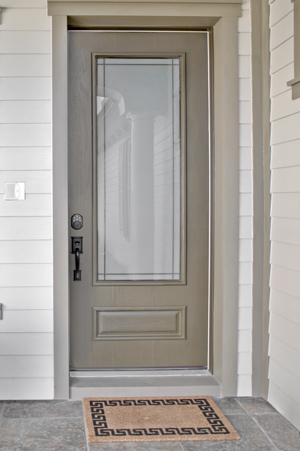 Fiberglass exterior doors Therma Tru are quality