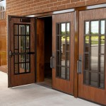 : Fire rated stile and rail wood doors are designed for safety