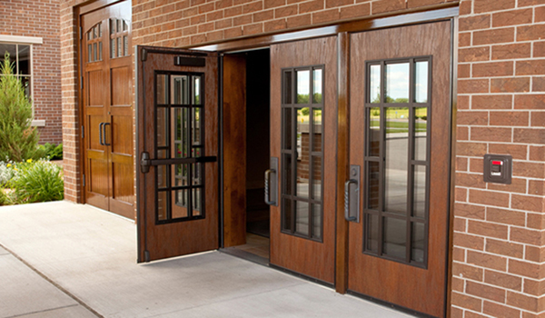 Fire rated stile and rail wooddoors are designed for safety
