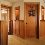 : Flat panel interior pine doors cost less than the doors from oak