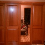 : Flat panel interior wood doors can be chosen in home improvement stores