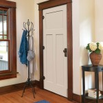 : Flat panel oak interior doors add your home more aesthetically beautiful look