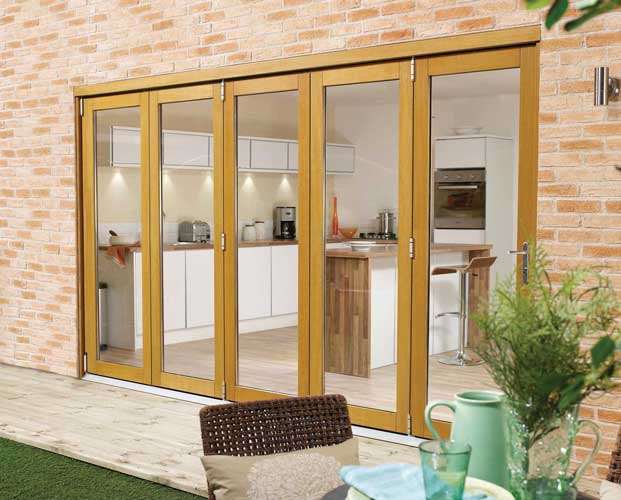 Folding exterior doors from UK may be ordered online