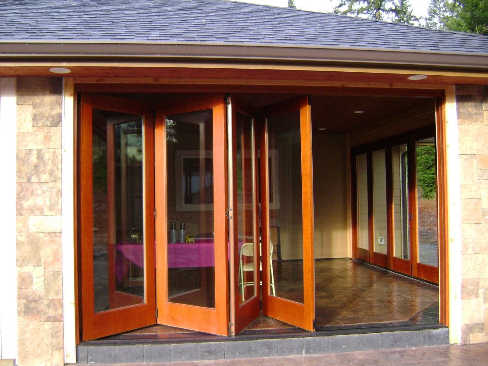 Bi Folding Exterior Patio Doors Look Stunning Interior Exterior