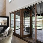 : Folding patio doors USA are very popular, especially for coast inhabitants