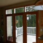 : French exterior doors are energy efficient and contemporary
