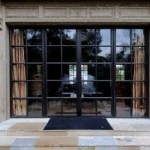 : French exterior doors made of timber are widely used nowadays