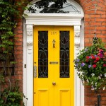 : Front doors can be designed especially for your home