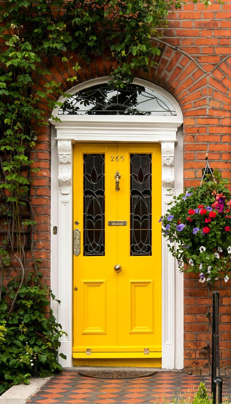 Front doors can be designed especially for your home