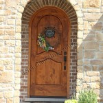 : Front doors for home may have pictures