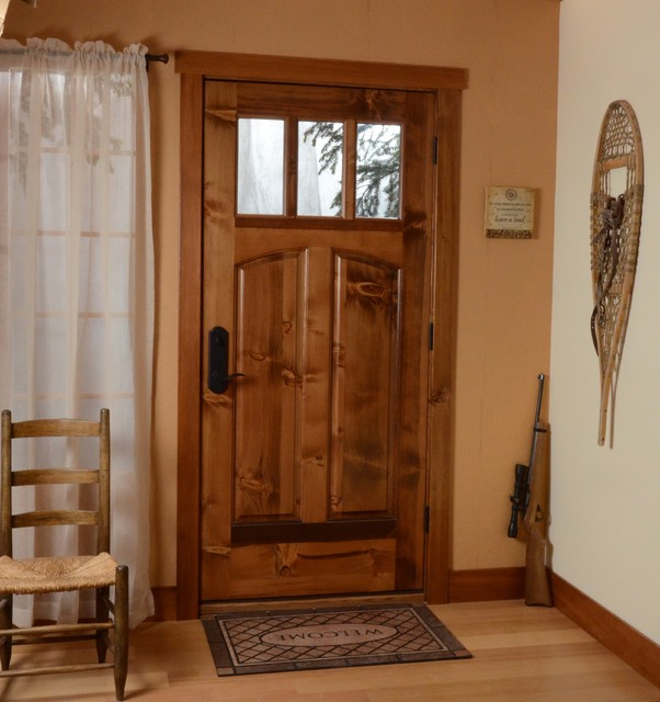 Front doors for homes can be displayed for sale
