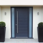 Front doors for homes in UK are designed in modern styles