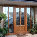 : Front doors for homes with glass give cozy effect