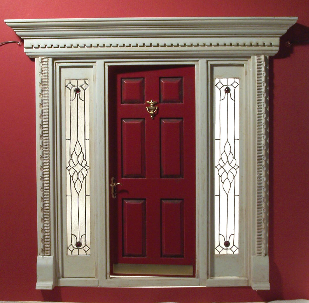 Front doors with sidelights in UK are a common choice of householders