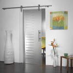 : Frosted glass door ideas include various trimmings