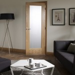 : Frosted glass interior doors are a popular choice in the UK