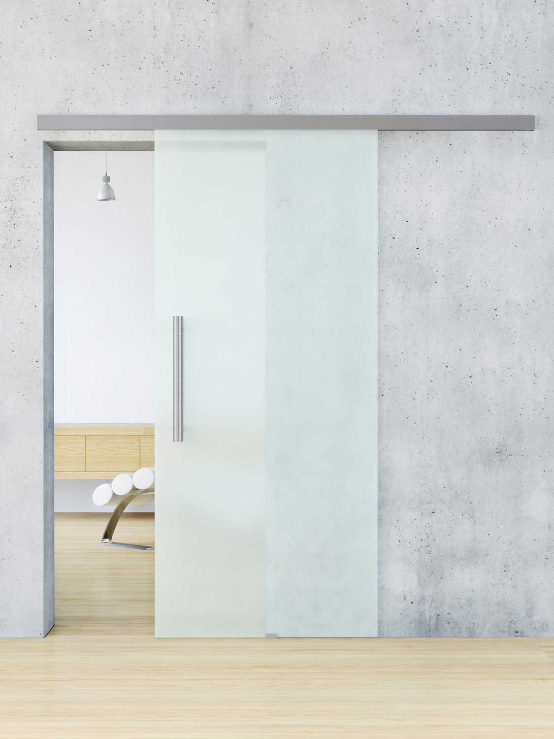 Frosted glass interior doors for sale can be ordered in the Internet