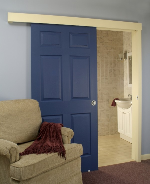Hang Sliding Door Can Be Installed On The Outside Wall