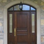 High quality fiberglass exterior doors are sound proof