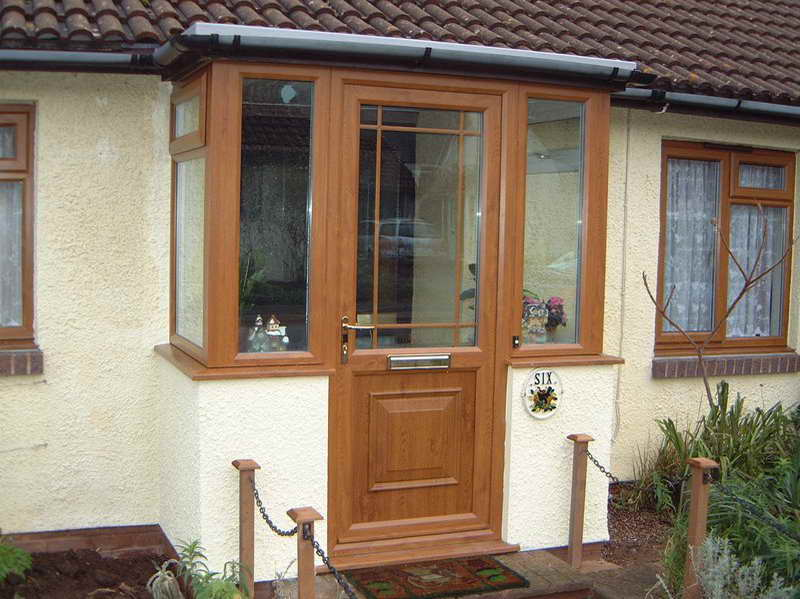 High quality wood storm doors may be ordered online and customized
