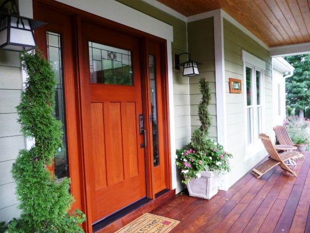 Ideas of craftsman style front doors can be bravely borrowed from