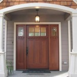 Images of craftsman style front doors tend to be placed in many