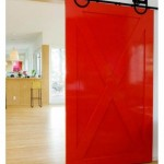 : Images of decorative interior doors are bright and colorful