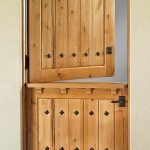 : Interior Dutch door UK is made for the comfort of its owners