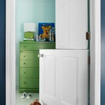 Interior Dutch door for nursery makes looking after babies easier and more comfortable