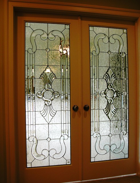 Interior Doors With Decorative Glass Inserts Look Impressively