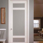 : Interior French doors with etched glass is a beautiful alternative