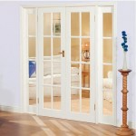 : Interior French doors with sidelights and transom is a marvelous choice