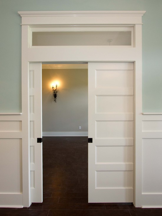 Interior French Doors With Transom Always Match The Design Of The