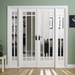 : Interior French doors without glass wonderfully separate rooms