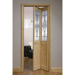 : Interior glass bifold doors in UK have modern design