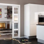 : Interior glass sliding doors are a common choice in the UK