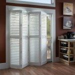 : Interior louvered folding doors have various styles