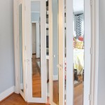 : Interior metal French doors will decorate the space